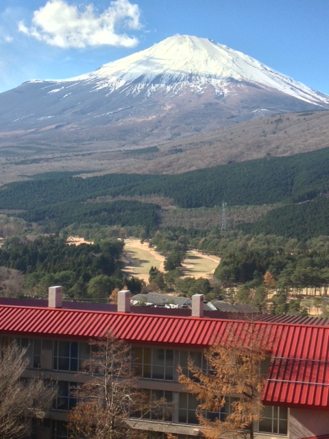 富士山全景