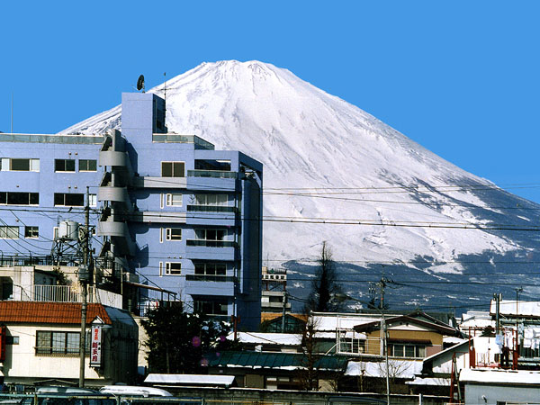 Mt.富士山とHOTEL全景画像